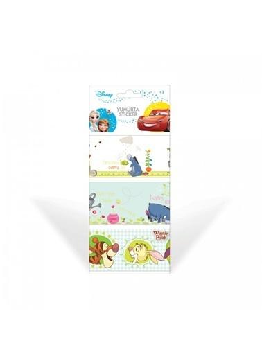 Disney Winnie The Pooh-2 Yumurta Sticker Renkli
